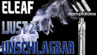Eleaf ijust2 Beste E-Zigarette? Wahnsinn Test Review Deutsch