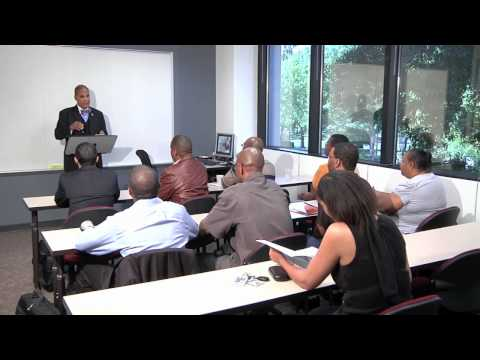 Speech To Focus Group at Strayer College