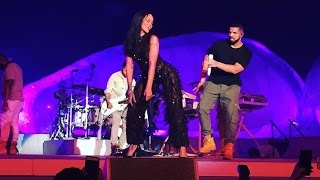 Mix - Rihanna | Work feat Drake | DVD The ANTI World Tour Live (HD)