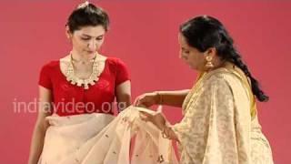 Bangladeshi Jamdani Saree In Bengali Style - Tutorial