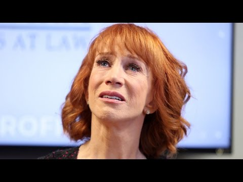 Kathy Griffin in Tears During Press Conference Says She Has Not Spoken to Anderson Cooper
