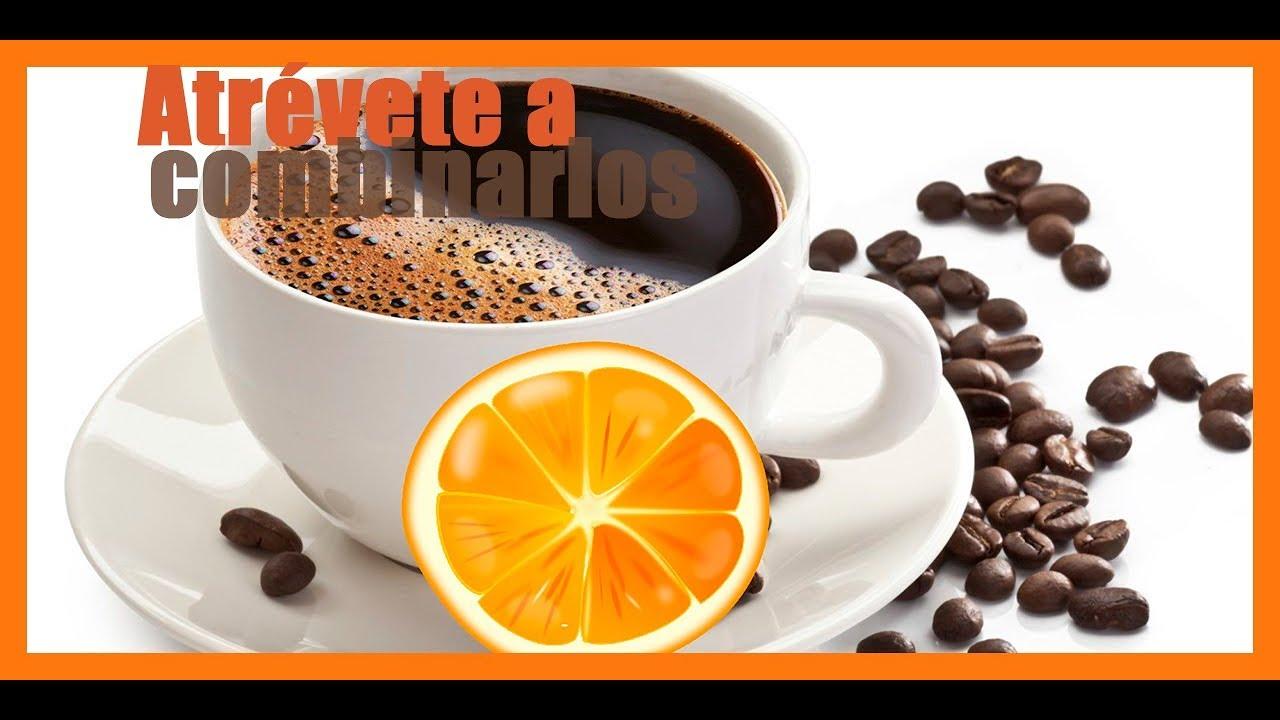 cafe amargo con naranja agria para adelgazar