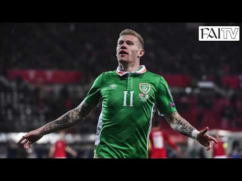 James McClean International Goals