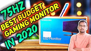 Samsung 21 5 inch Monitor Unboxing amp Review - LS22R350FHWXXL Best Budget Gaming Monitor 2020