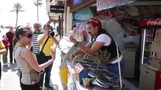 Prodavci sladoleda u Turskoj i Bosanci mušterije :)