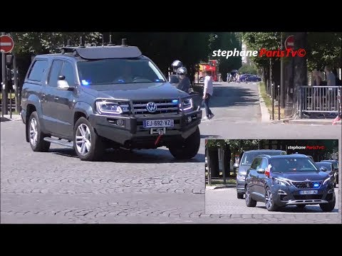 Video: Rare take of the new French presidential cars.