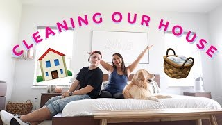 HOUSE CLEANING BEFORE WE MOVE TO LA!