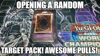 OPENING A RANDOM YUGIOH TARGET PACK! WITH 2 FOILS! AWESOME PULLS!