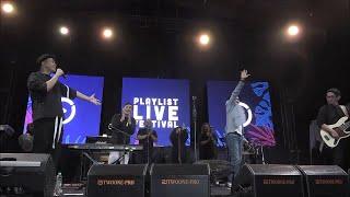 Download lagu Yovie x Tulus x Glenn Fredly - Adu Rayu (Live at PLAYLIST LIVE FESTIVAL 2019)
