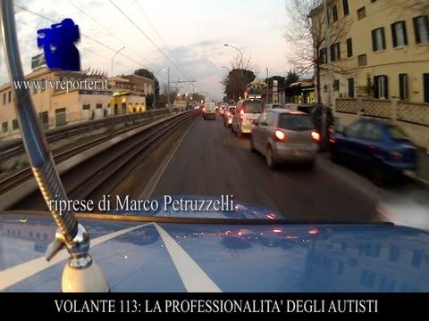 VOLANTE 113:  EMERGENZA,  LA PROFESSIONALITA' DEGLI AUTISTI  -ITALIAN COPS-