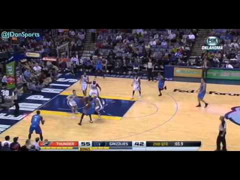 OKC Thunder Highlights: 2013-14 Season (Part 1 - 2013)