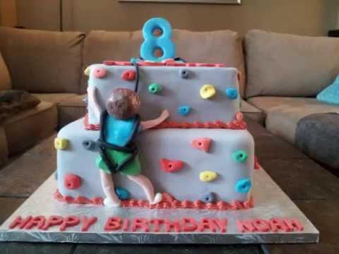 Rock Climbing Cake Youtube