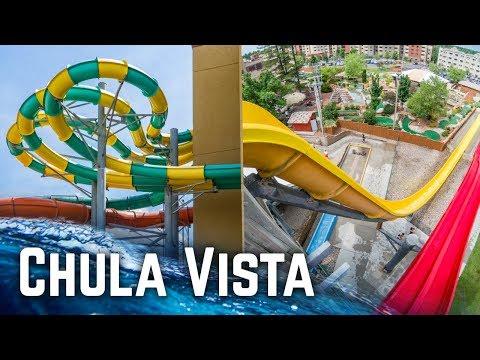 Amazing Water Park Resort in Wisconsin Dells: Chula Vista Resort (Waterslides GoPro POV)
