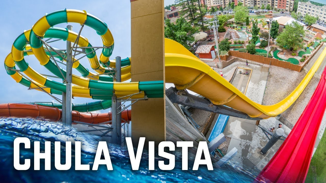 Amazing Water Park Resort in Wisconsin Dells: Chula Vista Resort  (Waterslides GoPro POV)
