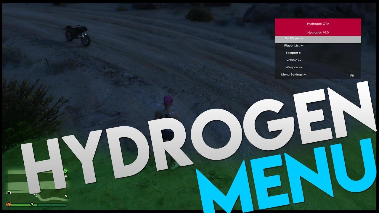 GTA 5 Online Mod Menu 1 40 Hydrogen Menu UNDETECTED [PC] [1 40]