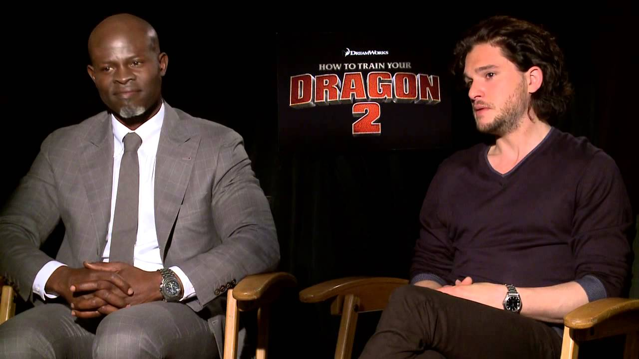 Kit Harington And Djimon Hounsou On Voiceover Acting For How To