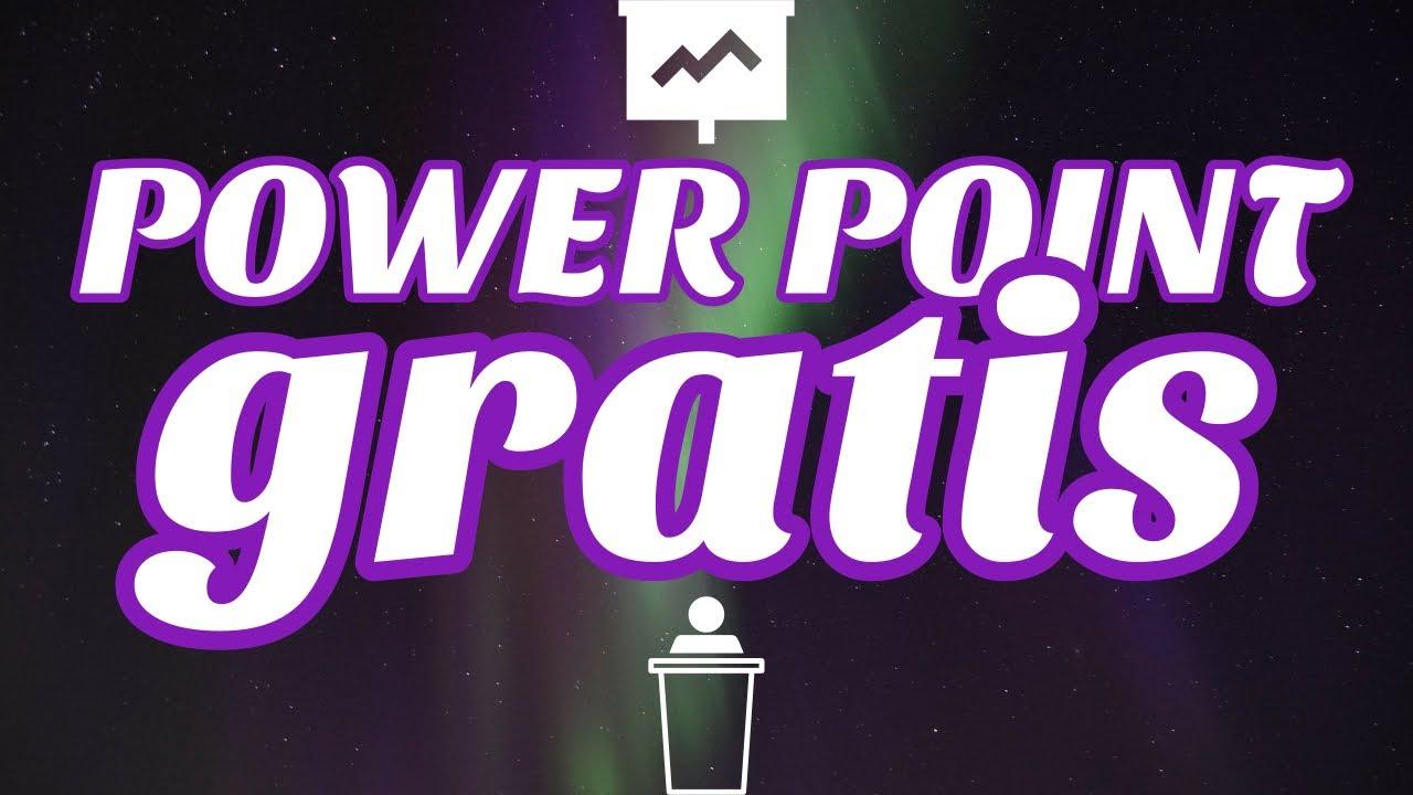 powerpoint gratis software para presentaciones mejor youtube