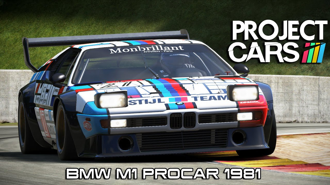 project cars bmw m1 procar 1981 road america youtube. Black Bedroom Furniture Sets. Home Design Ideas