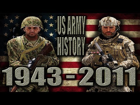 ARMA3 | US ARMY HISTORY | 1943 - 2011 (OUTFITS/LOADOUTS) [1440p60 Quality]