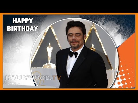 Happy Birthday Benicio del Toro - Hollywood TV