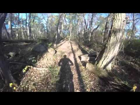 Quail Hollow State Park GoPro mountain bike helmet cam