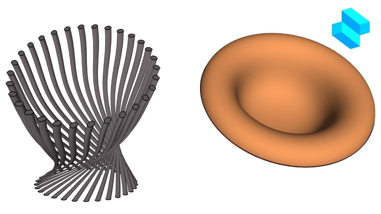 Organic chair   Advanced 3D modeling tutorial   Shapr3D - Organic chair   Advanced 3D modeling tutorial   Shapr3D