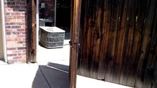 Wood Gate Repair Denver Colorado 303-797-8908