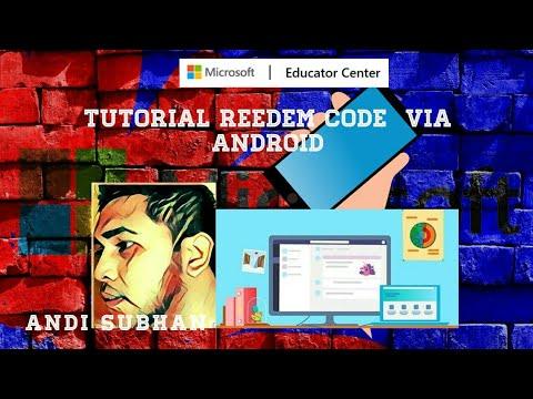 Tutorial Input Redeem Code via Android - YouTube