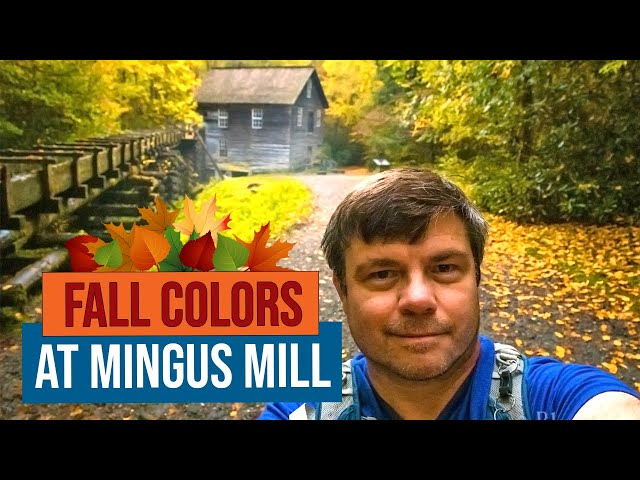 Fall at Mingus Mill in the Great Smoky Mountains National Park