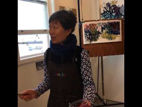Celeste Chin, abstract painter