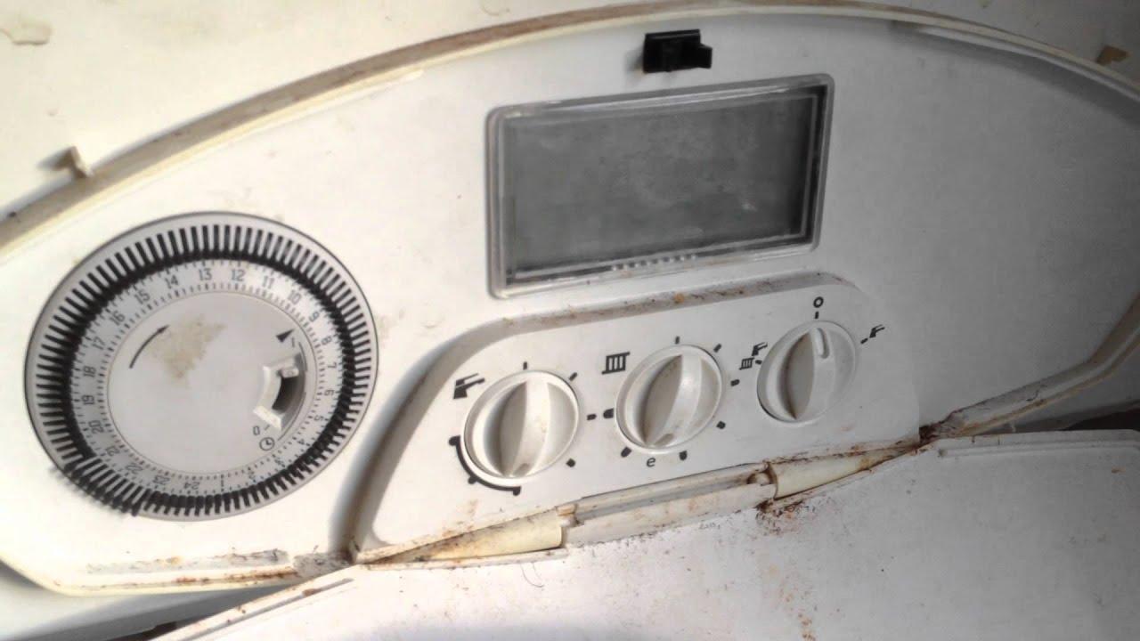Heatline boiler F4 lockout - YouTube