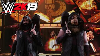 WWE 2K19 - The Bludgeon Brothers (Entrance, Signature, Finisher)
