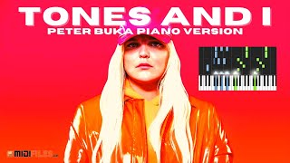🎹 TONES AND I (Dance Monkey) - PIANO COVER BY PETER BUKA 🎼