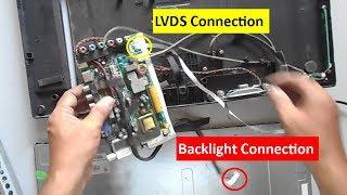 How to Repair Dead Haier LED TV Model LE22C430H - बिलकुल ख़राब Haier LED TV को कैसे ठीक करे