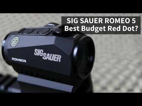 Sig Sauer Romeo 5 Red Dot - Best Budget Red Dot Optic?