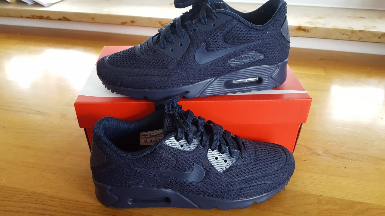 nike air max 90 breathe navy