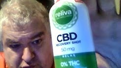 Reliva CBD Recovery Shot (My First Ever CBD Review)