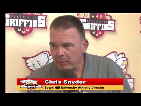 Seton Hill Athletic Director Chris Snyder Interview - 9.3.16