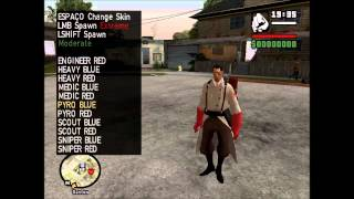 Team Fortress 2 Skin Pack Gta Sa by f0natGTA