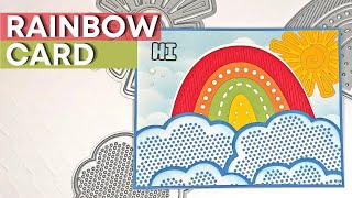 Rainbow Card | Party One & Party Sun | The Stamps of Life