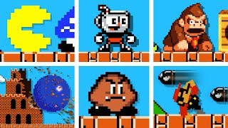 Famous OP characters in Super Mario Bros. (Official series) Season 1