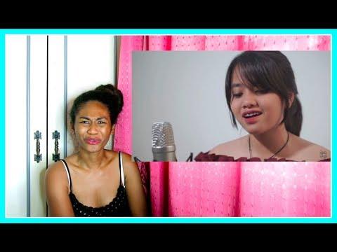 Akad - Payung Teduh Cover by Hanin Dhiya | Reaction