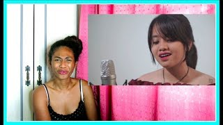 Akad Payung Teduh Cover by Hanin Dhiya Reaction