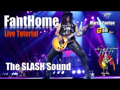 FantHome Live Tutorial: The Slash Sound (English)