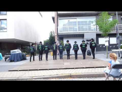 The Grizzly Linedancers - Gevorderden - Dorpsdag Brasschaat 4/9/16 - demo 13u