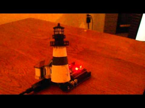 Yaquina Head Arduino light signature test