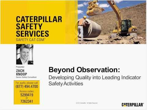 Safety Webinar | Developing Quality Leading Indicator Activities