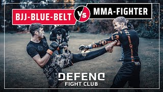 Russian-BJJ-Champion vs. German-MMA-Fighter | DEFEND Fight Club