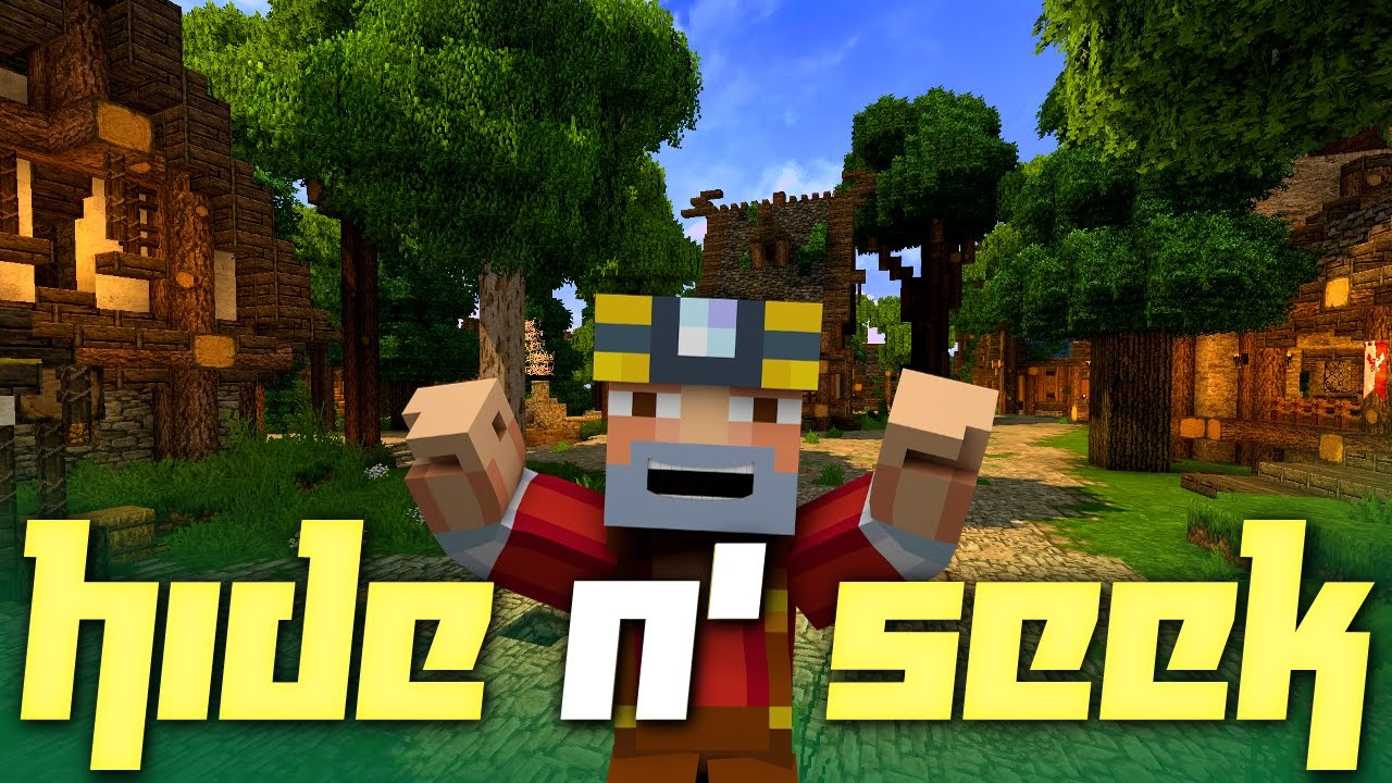 Minecraft Hide N Seek On The Fantasy Village Youtube