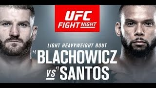 UFC Prague Plays and Predcitions: Blachowicz vs Santos